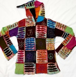 Boho Shop Therapy Zip Up Hoodie
